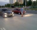 Лада Приора против Тойоты Камри на четверти мили