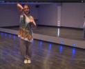 1 урок по HIP-HOP от Анны Дельцовой.